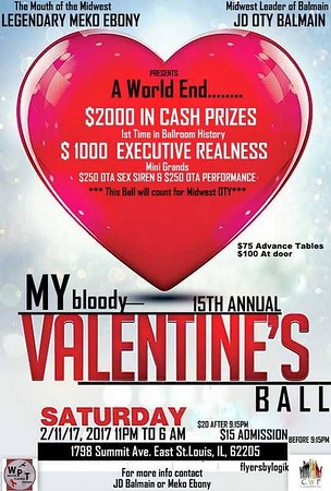 Chuck Pfoutz Presents: The My Bloody Valentines Day Ball 15