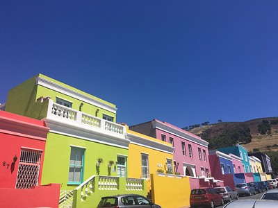 Vibrant colors in the Bo-Kaap area of Capetown - Rob Williamson