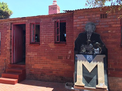 Mandela's home in Soweto - Rob Williamson