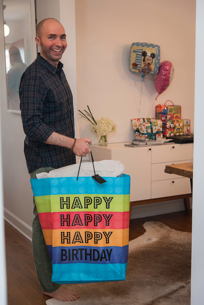 Twins Turn One Year Old.  Birthday Party, May 21, 2017.  Photo by Ben Droz