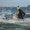 Start of the men's division in the 2017 New Zealand Swimrun Championships. Mission Bay, Auckland, New Zealand. Wednesday 22nd February 2017.