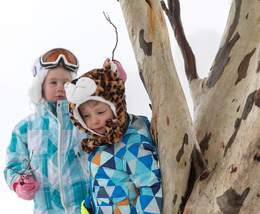 Playing in the Snow - Selwyn Snowfields