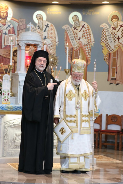 Three Hierarchs Liturgy with Bishop Ilia