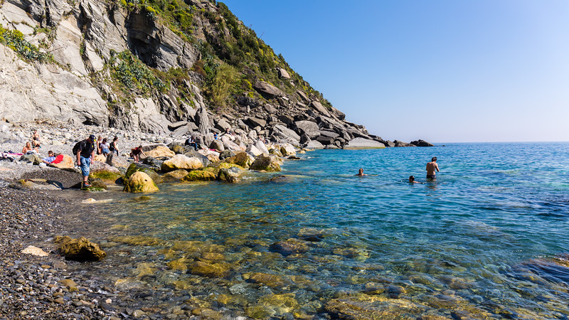 The other side of Vernazza