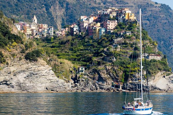 Leaving Riomaggiore