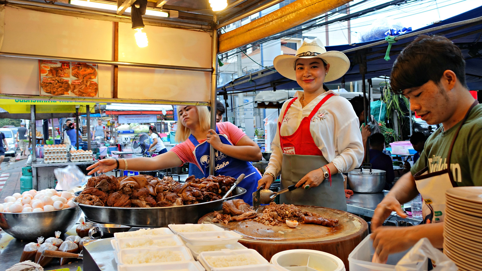 Cowboy Hat Lady at Khao Kha Moo