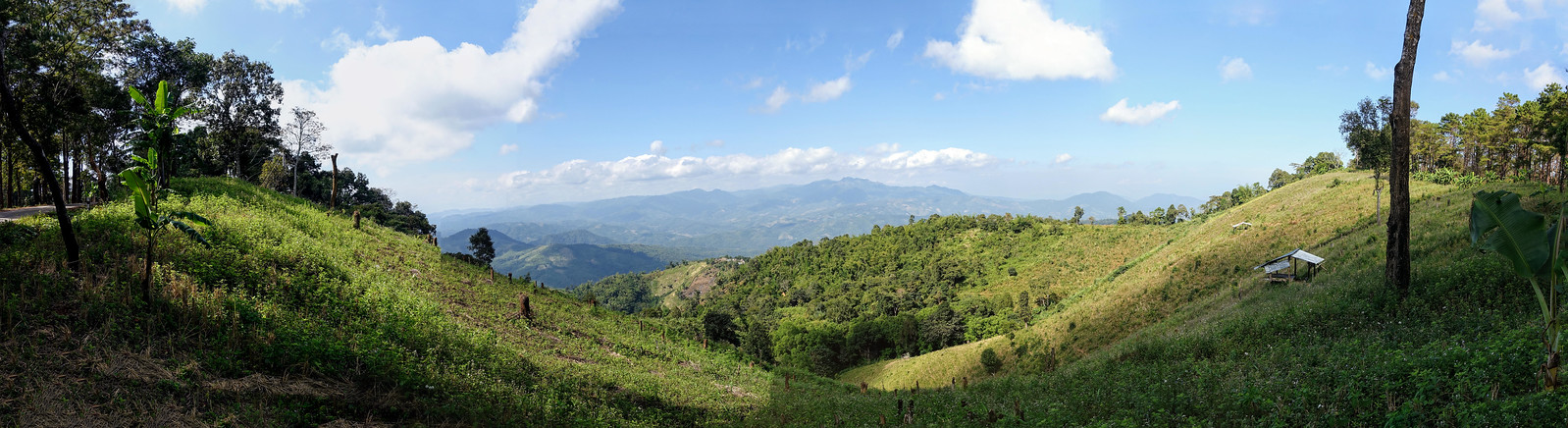 Myanmar Mountain Countryside