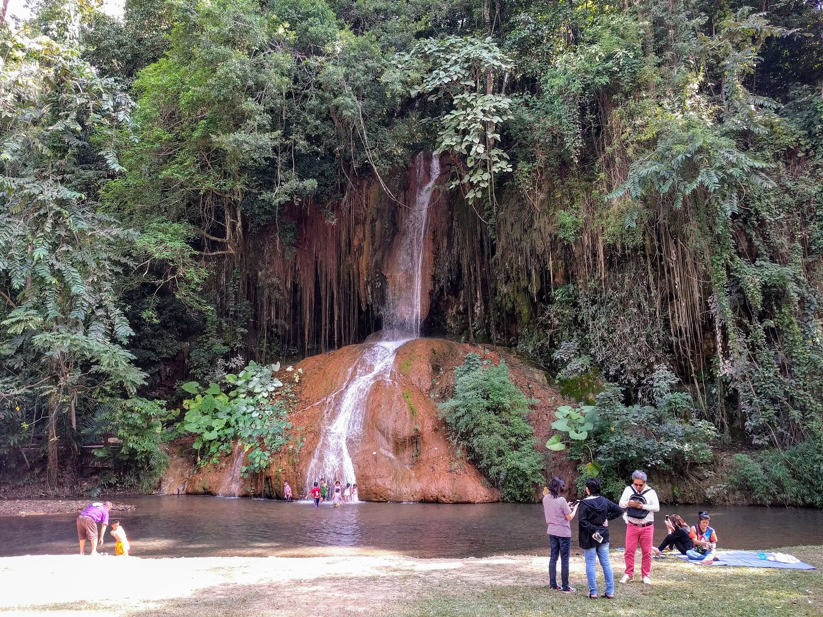 Phu Sang National Park & Hot Spring Waterfall