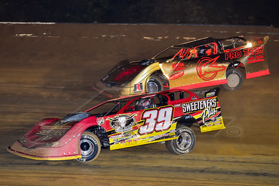 Tim McCreadie (39) and Freddie Carpenter (K)