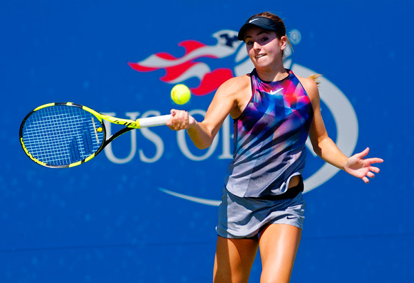 04 Catherine Cartan CiCi Bellis - Us Open 2017