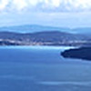 View from Malahat Summit, Vancover Island