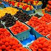 Fresh berries at Granville Public Market
