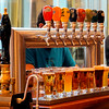 Samplers poured at Granville Island Brewing