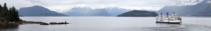 Ferry from Vancouver to Vancouver Island