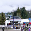 Blackcomb mountain ski lift
