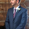 Paul during the wedding ceremony