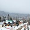 View from our balcony at Nita Lake Lodge