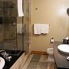 Bathroom in our Nita Lake Lodge suite