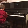 Quentin recital song at home