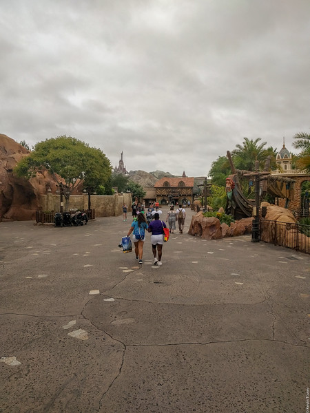 No crowds at Magic Kingdom