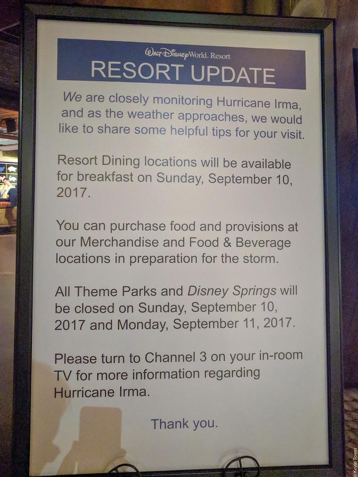 Resort update