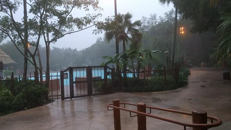 Irma arrives
