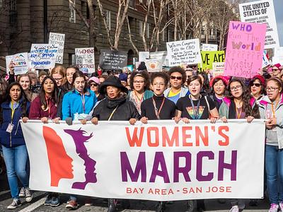 Women's March San Jose 21 January 2017