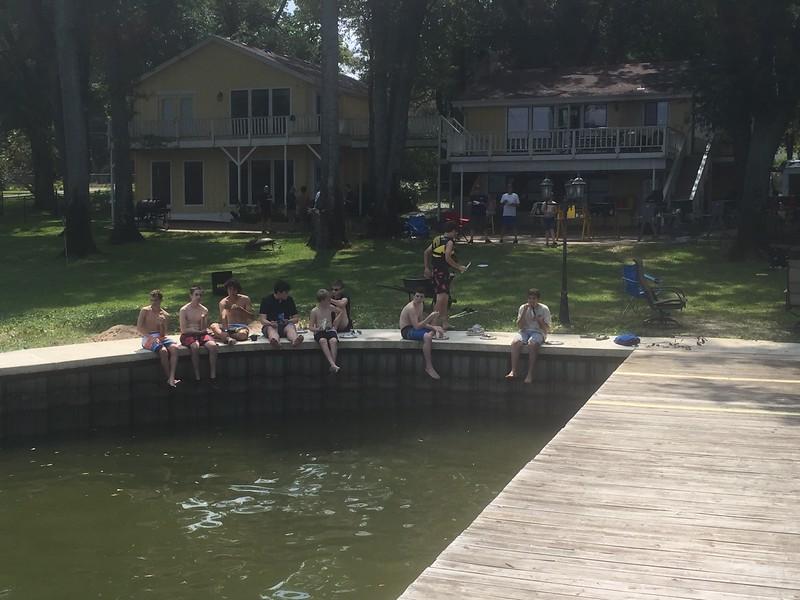 Waterfront Activities at Cedar Creek Lake