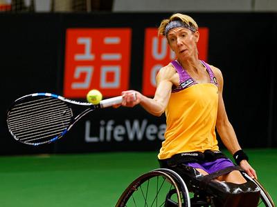 01.06 Sabine Ellerbrock - Wheelchair Doubles Masters 2017