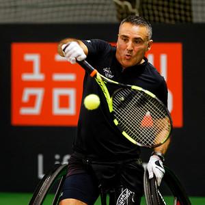 01.08b Stephane Houdet - Wheelchair Doubles Masters 2017