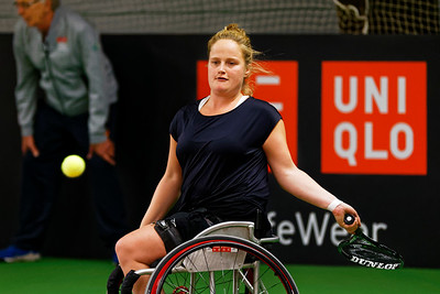 01.05b Aniek van Koot - Wheelchair Doubles Masters 2017