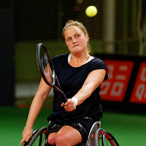 01.05a Aniek van Koot - Wheelchair Doubles Masters 2017