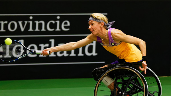 01.06a Sabine Ellerbrock - Wheelchair Doubles Masters 2017