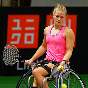 01.01b Diede de Groot - Wheelchair Doubles Masters 2017