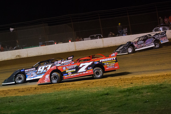Rick Eckert (7E), Donald Bradsher (93) and Joey Coulter (2C)