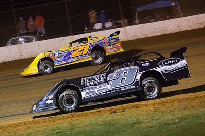 Timothy Culp (C8) and Billy Moyer (21)