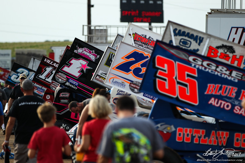 World of Outlaws Craftsman Sprint Car Series - Champion Racing Oil Summer Nationals - Williams Grove Speedway