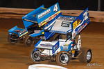 dirt track racing image - 55th annual Champion Racing Oil National Open - Williams Grove Speedway - 7S Jason Sides, 4 Parker Price-Miller