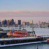 Sunrise with the tugs in Eastie.