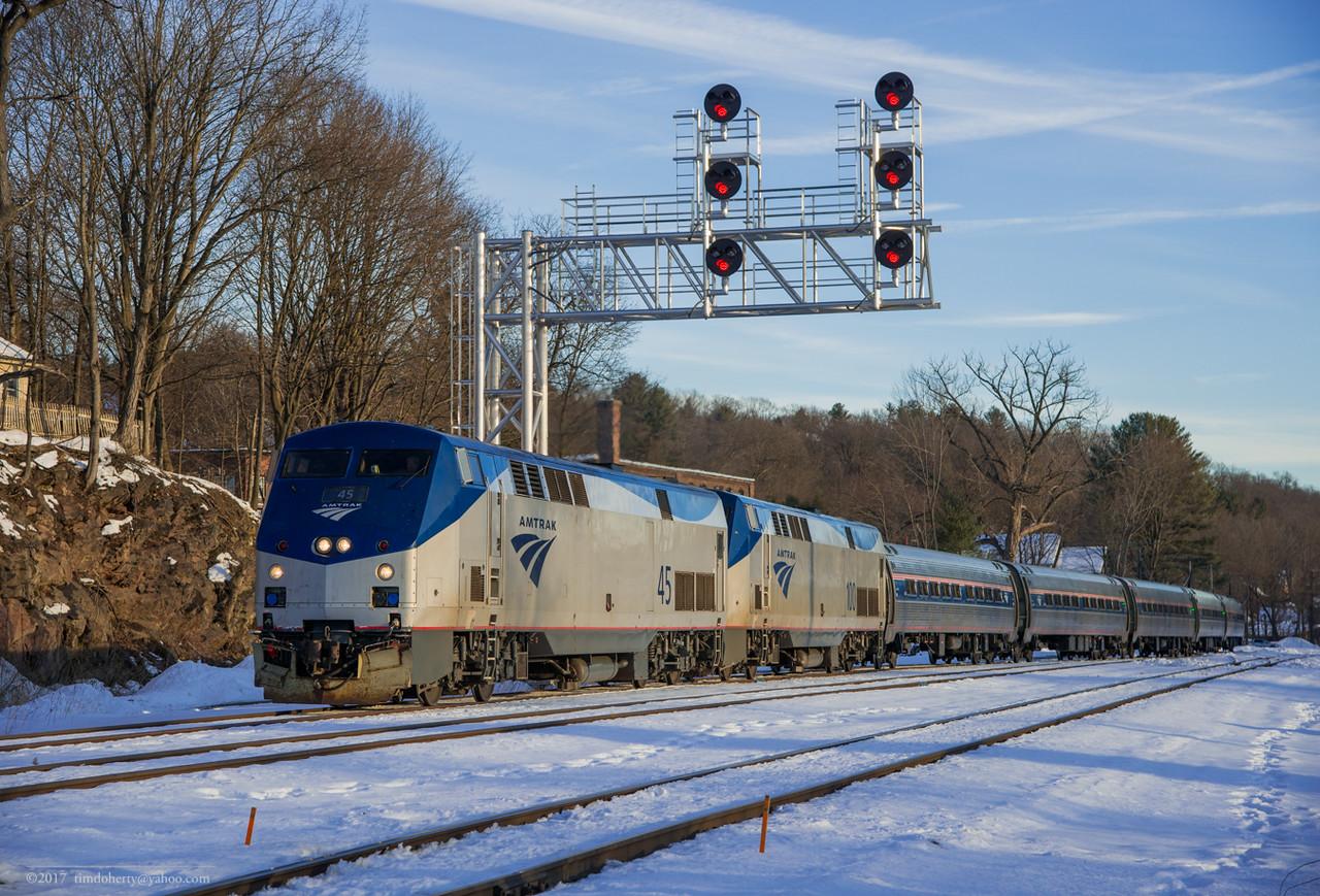 Amtrak 45