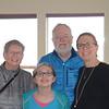Gma, Mara, Gpa and Casey. Last visit to the Dacha.