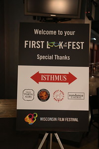 Thank you to our sponsors for the evening: Isthmus, Cafe Porta Alba, Cafe Hollander, The Great Dane Pub & Brewing Company, and Sundance Cinemas.