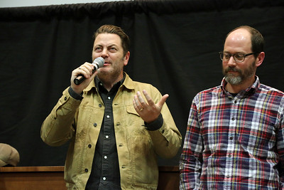 Guests of the Fest Nick Offerman and Marc Basch