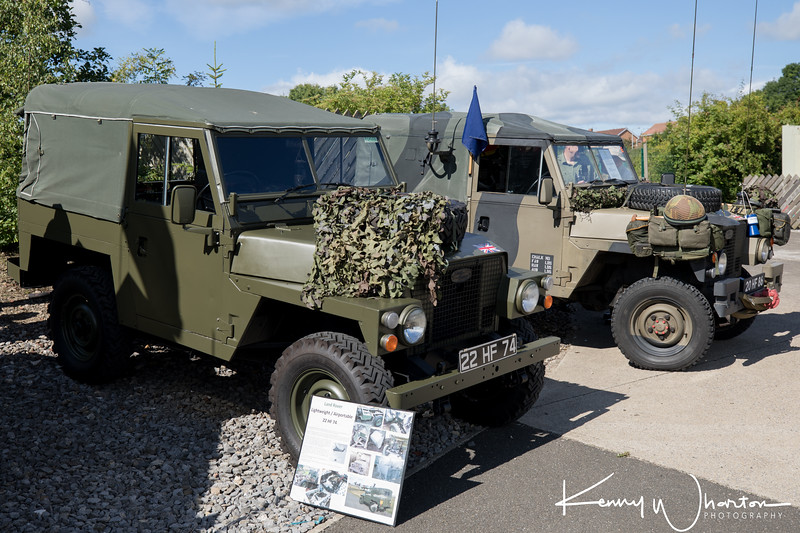 22 HF 74 Land Rover lightweight-airportable