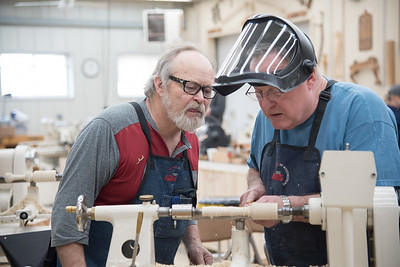 Woodturning with Lacer [Mar 17]