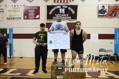 Final #285 #1 Zack Sieb Morris Catholic, #2 Giancarlo Dellanno Hanover Park #3 Jason Kopich Queen of PEace