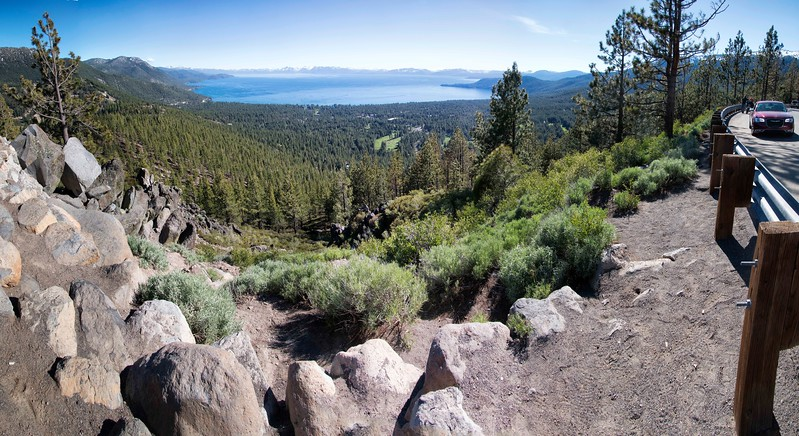 Tahoe Lake Overlook, Lake Tahoe, Nevada