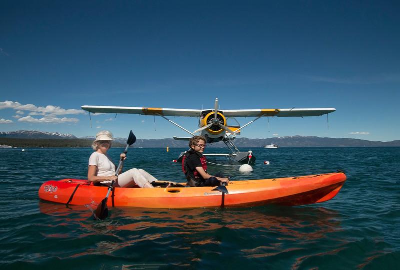 Kayaking with Tahoe City Kayaks, Lake Tahoe, Nevada