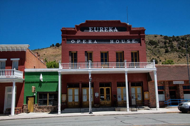 Eureka O[pera House, Eureka, Nevada