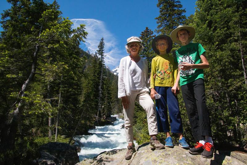 Cascade Creek, Grand Teton National Park, Wyoming
